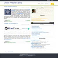 Deddy Andaka's Blog