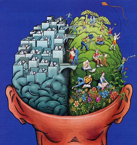 Ayo Test, Baca Tulisan Ini Berarti Otak Kanan Anda Baik